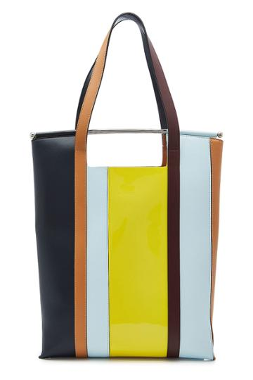 Delpozo Delpozo Great Leather Tote With Handles