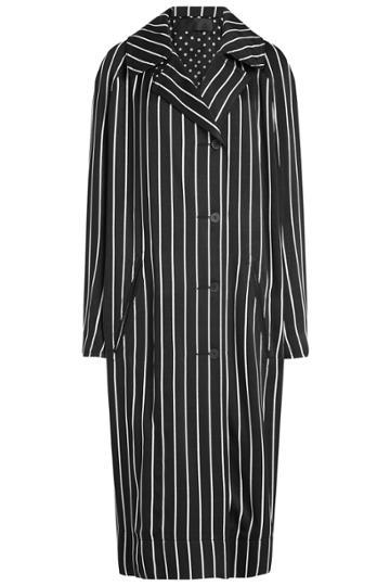 Haider Ackermann Haider Ackermann Striped Coat
