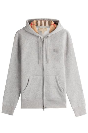 Burberry Brit Burberry Brit Cotton Hoody - Grey