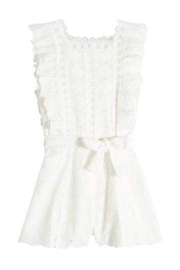 Zimmermann Zimmermann Lace Playsuit