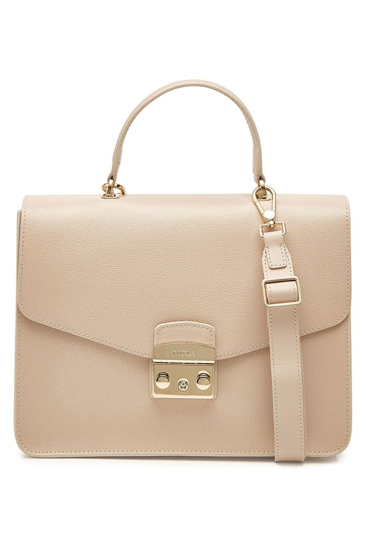 Furla Furla Metropolis M Leather Top Handle Satchel