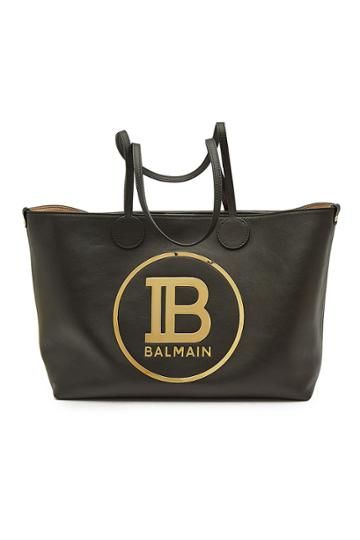 Balmain Balmain Leather Shopper