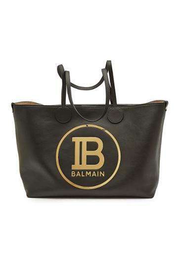 Balmain Balmain Leather Shopper
