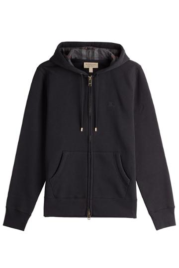 Burberry Brit Burberry Brit Cotton Hoody - Black