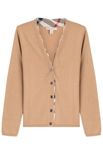 Burberry Brit Burberry Brit Wool Cardigan - Brown