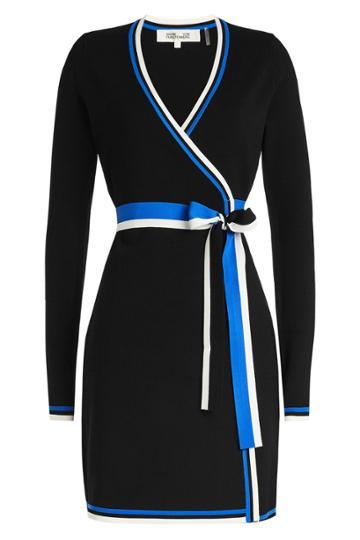 Diane Von Furstenberg Diane Von Furstenberg Sweater Wrap Dress