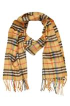 Burberry Burberry Checked Cashmere Scarf