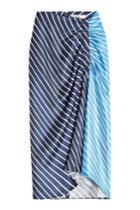 Tibi Tibi Delphina Printed Silk Skirt