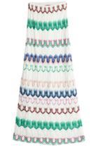 Missoni Missoni Crochet Knit Maxi Skirt - Multicolor