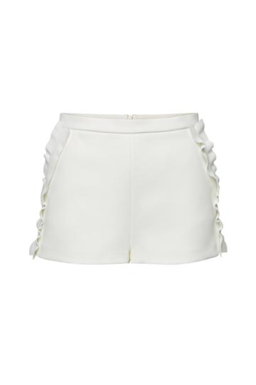 Red Valentino Red Valentino Shorts With Ruffles