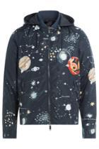 Valentino Valentino Cosmo Fabric Jacket With Hood
