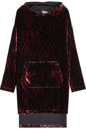 Lala Berlin Lala Berlin Velvet Sweatshirt Dress