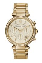 Michael Kors Collection Michael Kors Collection Parker Gold-tone Watch