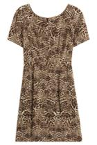 The Kooples The Kooples Silk Leopard Print Dress