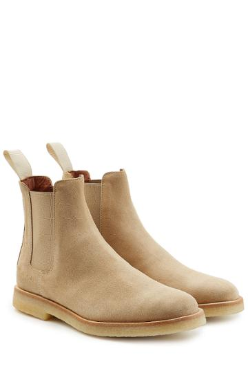 Common Projects Common Projects Suede Chelsea Boots
