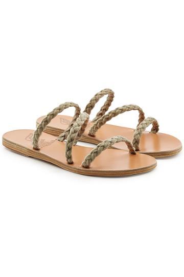 Ancient Greek Sandals Ancient Greek Sandals Alkmini Woven Sandals
