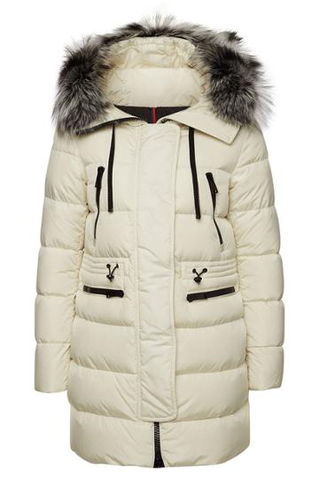 Moncler Moncler Aphrotiti Down Parka With Fur-trimmed Hood
