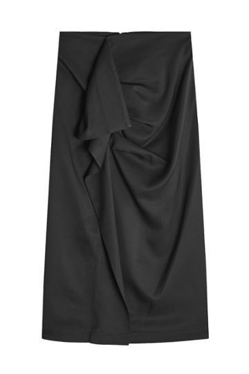 Carven Carven Draped Skirt