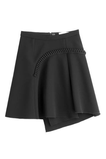 Carven Carven Asymmetric Skirt - Black