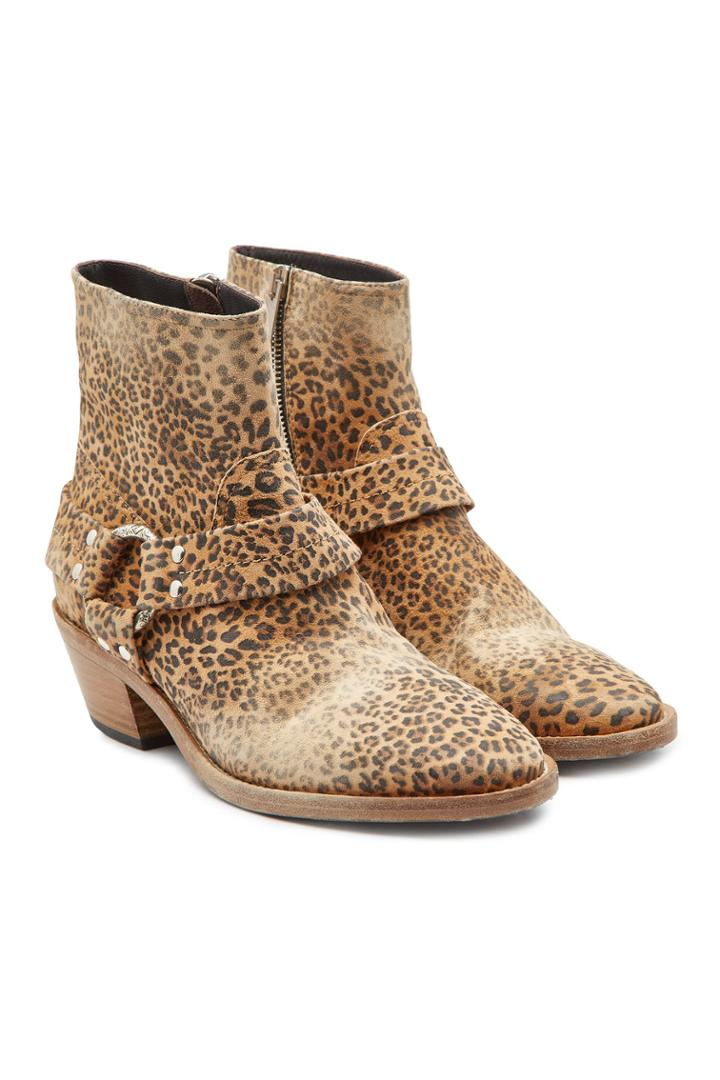 Golden Goose Deluxe Brand Golden Goose Deluxe Brand Printed Suede Ankle Boots