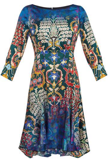 Peter Pilotto Peter Pilotto Printed Silk Mini Dress