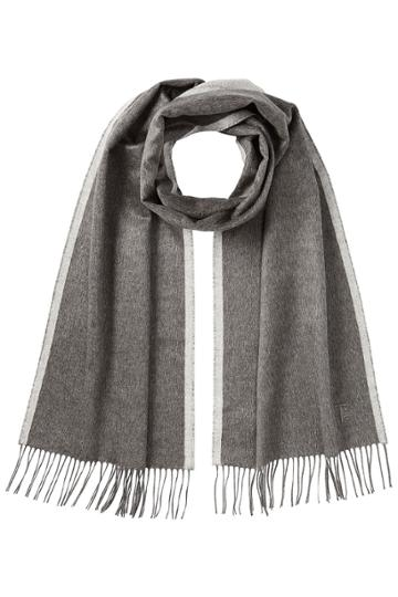 Tod's Tod's Silk Scarf - Grey