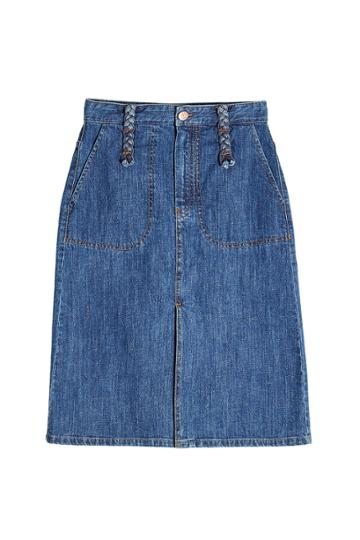 See By Chlo See By Chlo Denim Skirt