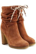 See By Chloé See By Chloé Suede Ankle Boots - Camel