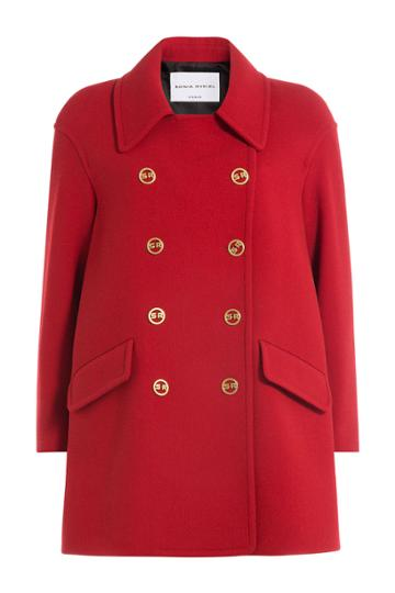 Sonia Rykiel Sonia Rykiel Wool Coat - Red