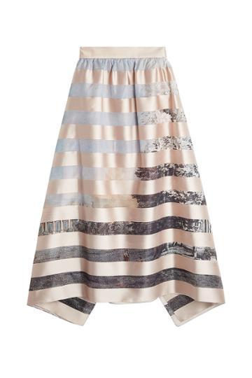 Fendi Fendi Printed Skirt With Silk