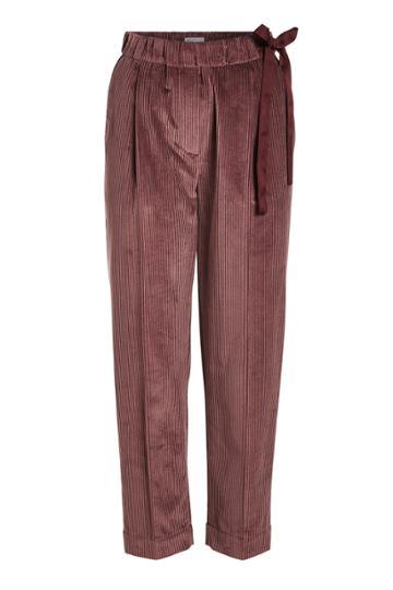 Brunello Cucinelli Brunello Cucinelli Silk Velvet Pants
