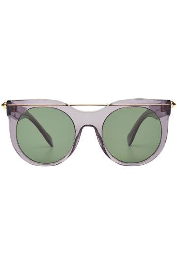 Alexander Mcqueen Eyewear Alexander Mcqueen Eyewear Round Sunglasses