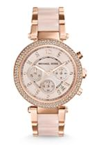 Michael Kors Collection Michael Kors Collection Parker Rose Gold-tone Watch