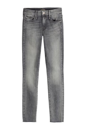 Mother Mother Skinny Jeans - Blue
