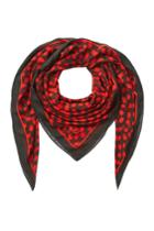 Mcq Alexander Mcqueen Mcq Alexander Mcqueen Dot Print Scarf - Red
