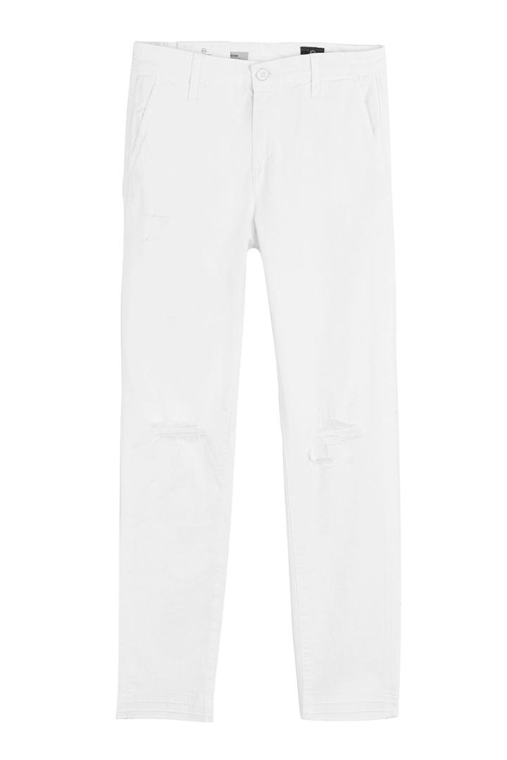Adriano Goldschmied Adriano Goldschmied Distressed Straight Jeans
