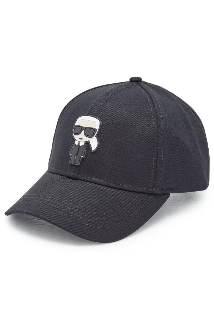Karl Lagerfeld Karl Lagerfeld K/ikonik Cotton Baseball Cap