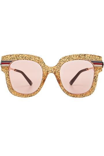 Gucci Gucci Glitter Sunglasses