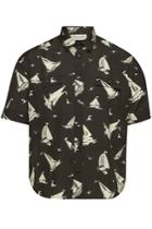 Saint Laurent Saint Laurent Printed Silk Shirt