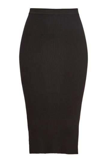 Rick Owens Rick Owens Ribbed Skirt