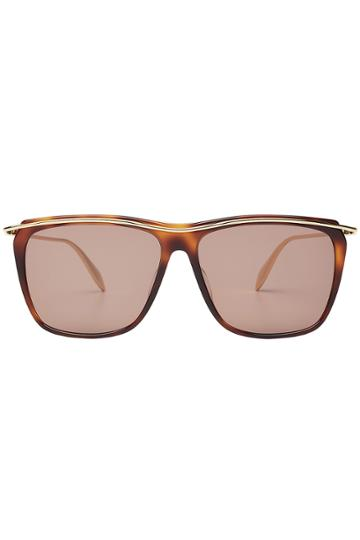 Alexander Mcqueen Eyewear Alexander Mcqueen Eyewear Square Sunglasses