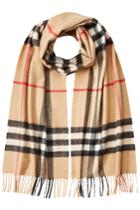 Burberry Burberry Giant Icon Printed Cashmere Scarf