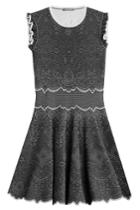Alexander Mcqueen Alexander Mcqueen Knit Cocktail Mini-dress - None