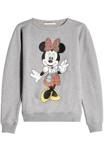 Christopher Kane Christopher Kane Minnie Mouse Cotton Sweatshirt