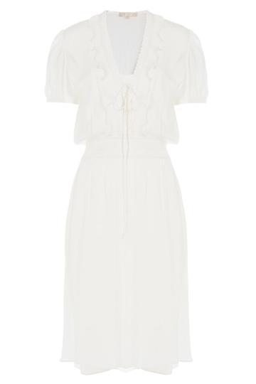 Vanessa Bruno Vanessa Bruno Silk Dress - White