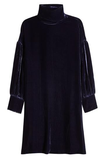 M I H M I H Velvet Dress With Silk