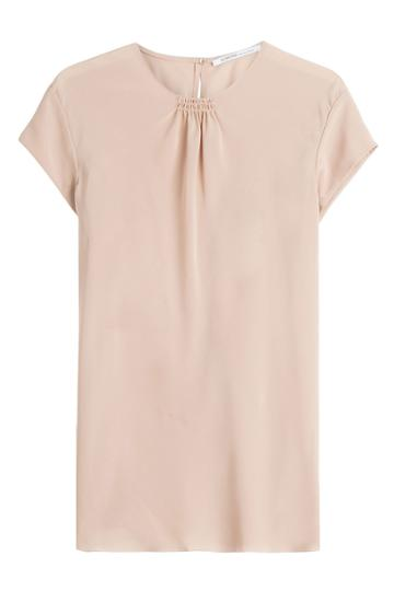 Agnona Agnona Silk Top - Pink