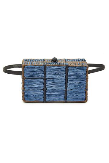 Sophie Anderson Sophie Anderson Handwoven Shoulder Bag With Leather