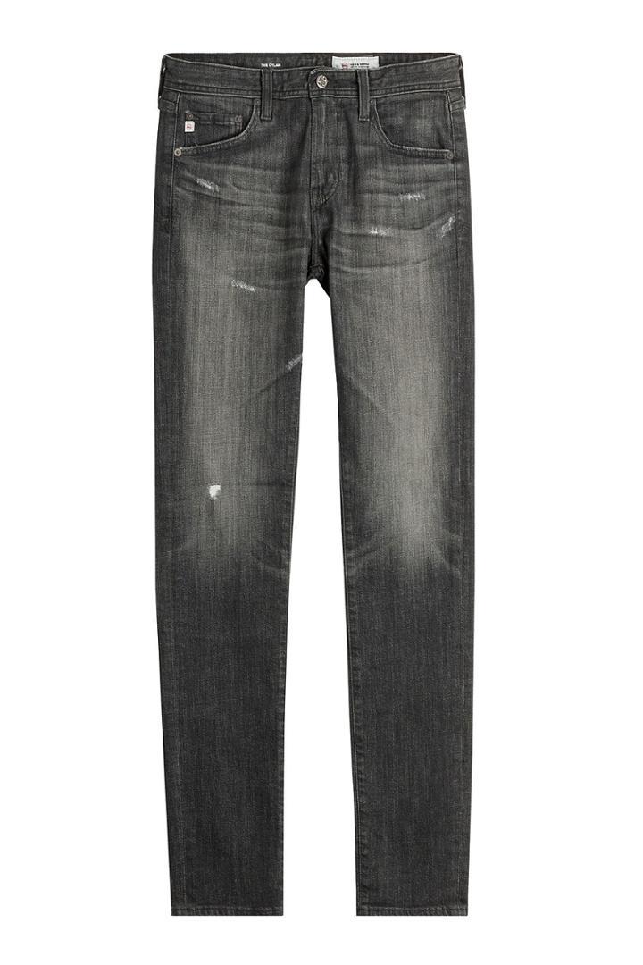 Adriano Goldschmied Adriano Goldschmied Distressed Straight Leg Jeans - Blue