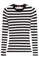 Michael Kors Michael Kors Striped Pullover - White